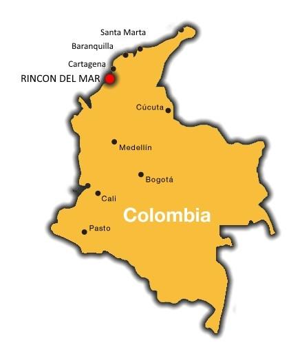 Map of Ricon del Mar